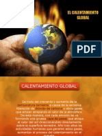 8° calentamiento global
