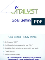 goal setting - team catalyst