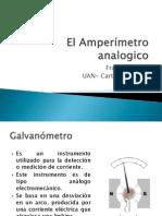 4 El Amperimetro