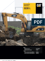 Especificaciones CAT 323D