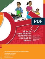 Guía de comunicación  inclusiva con equidad de  género
