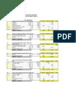 Análisis Precios Unitarios Reposición Acueducto