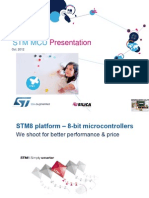 STM32 Microcontroller General Oct2012
