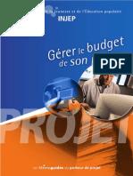 59599947 INJEP Gerer Le Budget de Son Projet