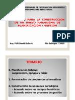 David Kullock Nuevo Paradigma de Planificacion