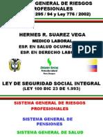 Sistema General de Riesdgos Profesionales