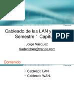 Cableado LAN y WAN