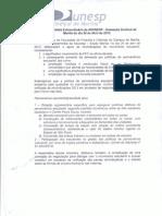 Moção de Apoio ADUNESP-S; Sindical Marília