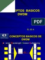 Conceptos basicos DWDM