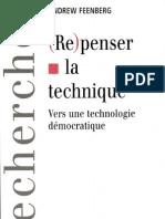 Repenser La Technique