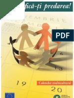 Calendar Multicultural Didactic