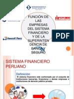 Empresas Del Sistema Financiero y La Sbs