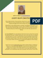 God's Raw Emotion