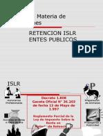 Retenciones de ISLR