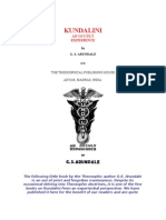 Arundale, George - Kundalini an Occult Experience