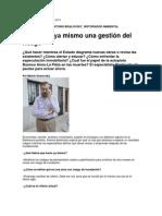 Articulo Las Propuestas de Antonio Brailovsky