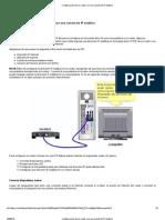Configuración de un router con una cuenta de IP estática