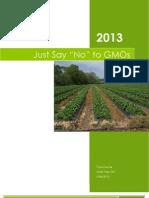GMO Report