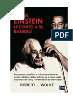 Lo Que Einstein Le Conto a Su Barbero