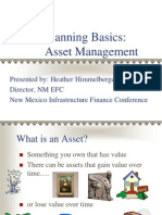 Asset Management First Session