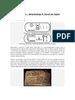Perfil Histórico Amenhotep II