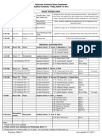Schedule 15Mar13