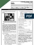 3ª AVALIAÇÃO - HISTÓRIA - 9º ANO - TIPO 1 - 2012