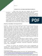 Comunicado de prensa LLL México