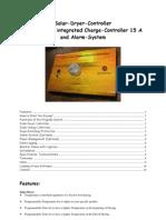 Solar Dryer Controller Manual