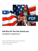 EDEL453 Spring2013 GregWINIEWICZ Unit 4 History PLANNER