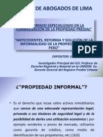 formaliz propiedad predial