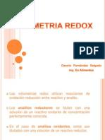 Volumetría Redox - Dennis Fernández
