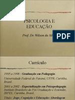 Psicologia e Educacao 2012