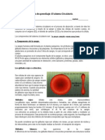 Guía de aprendizaje sistema circilatorio