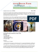 Shannon Brook Farm Newsletter 5-4-2013