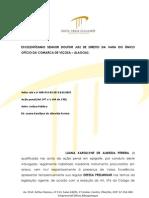 DEFESA PRELIMINAR - VIÇOSA - LUANA KAROLLYNE - CRIME DE FALSIFICAÇÃO DE DOCUMENTO