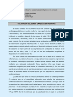 2006 Valoracion Soplo Cardiaco en Pediatria