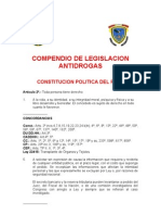 Leg.antidrog.compendio