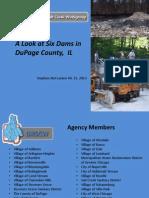 Final Plenary A Look at Six Dams in DuPage County, IL Steve McCracken