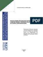 REIS, Leoncio J. a. - Novos Atores Em Cena Nos Estudos Do Lazer No Brasil