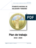 DNEM - Plan de Trabajo 2013