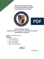 Ley General de Sociedades y Buen Gobierno Corporativo