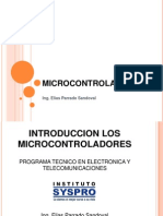 Microcontroladores Introduccion