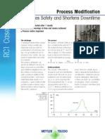 RC1 Process Modification Case Study Process Safety