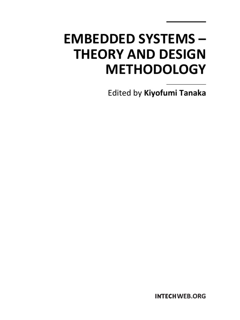 Embedded Systems Theory And Design Methodology Scheduling Csci 255 Flip Flops Computing System