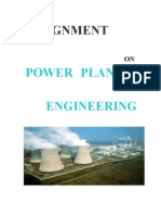 power plant Assignment