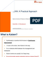 1. Kaizen concept - lean