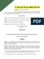 USP Novo Regimento de Pós-Graduação da USP
