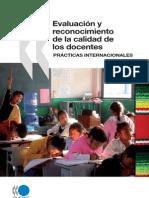 EVALUACIÓN Y RECONOCIMIENTO DE LAS ESCUELAS Y LOS DOCENTES