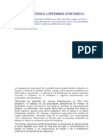 INFORME TÉCNICO loperamida
